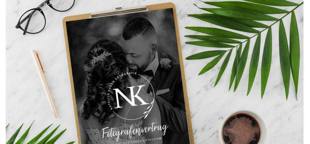 Fotografenvertrag bei Hochzeitsfotograf!