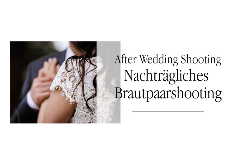 Das After Wedding Shooting Hagen